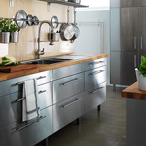 "2/"" 4/"" 5/"" 6/""8/""10/""12/'/' Stainless Steel Kitchen Cabinet Handle T Bar Pulls Hardware"