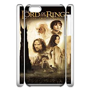 Protection Cover Nrvvg iphone6 Plus 5.5 3D Cell Phone Case White the lord of the rings the two towers movie Protection Cover