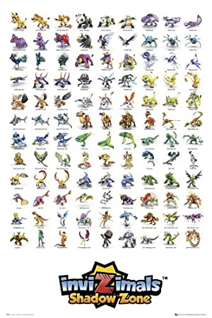 Invizimals Shadow Zone Game Characters Collection Large Poster 61
