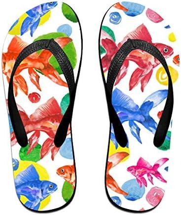 ビーチシューズ 金魚柄 ビーチサンダル 島ぞうり 夏 サンダル ベランダ 痛くない 滑り止め カジュアル シンプル おしゃれ 柔らかい 軽量 人気 室内履き アウトドア 海 プール リゾート ユニセックス