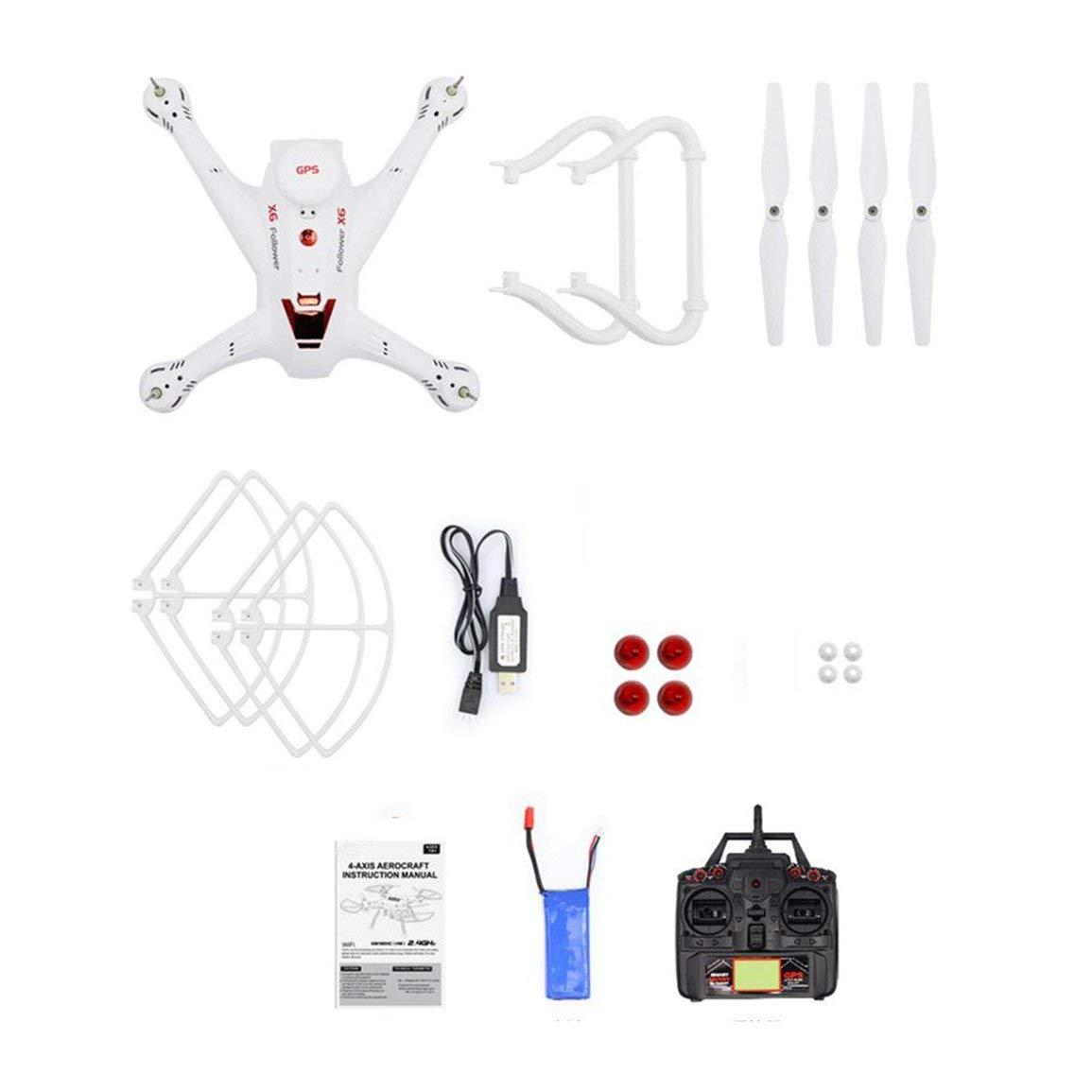 Fantasyworld X183 2.4G RC Aviones no tripulados Modo sin Cabeza Altitud Hold Una tecla Retorno Mini Remote Control Quadrocopter para niños