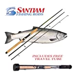 Santiam Fishing Rods Travel Rod 3 Piece 8'6″ 15-30lb Moderate Heavy Graphite Spinning Rod Review