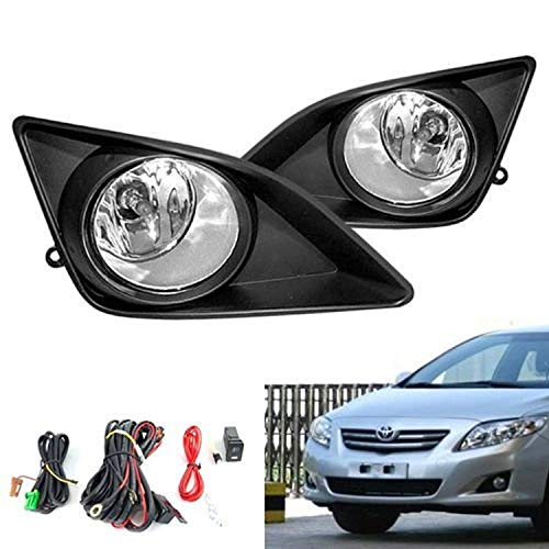 Remarkable Power FL7005 Fit For Year 2008-2010 Toyotaa Corolla Altis Clear Fog Lights KIT (Best Toyota Corolla Year)