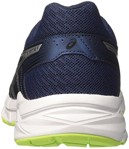 4993 Silver Asics Deporte Safety Zapatillas Dark Yellow para Gel de 4 Contend Azul Hombre Blue Pq4r76wP