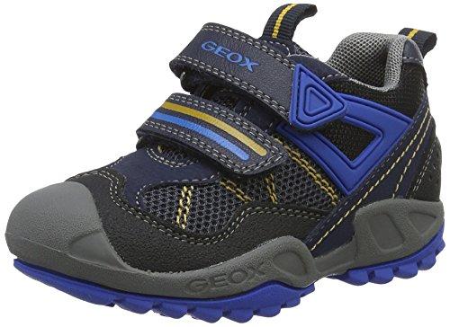 Geox J New Savage a, Zapatillas para Niños Azul (Navy/royalc4226)