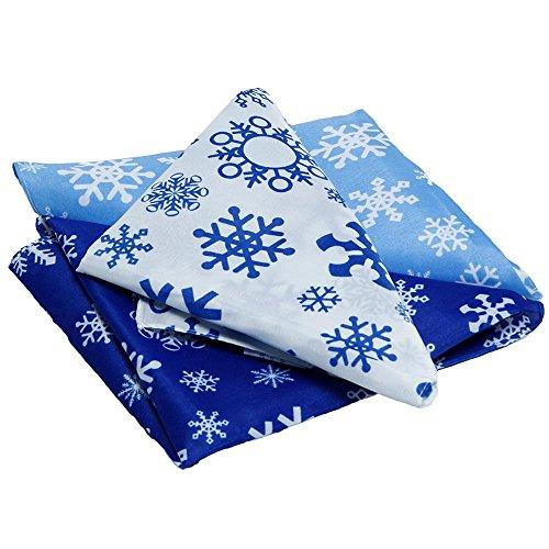 Snowflakes Bandana (Fun Express Snowflake Bandana)