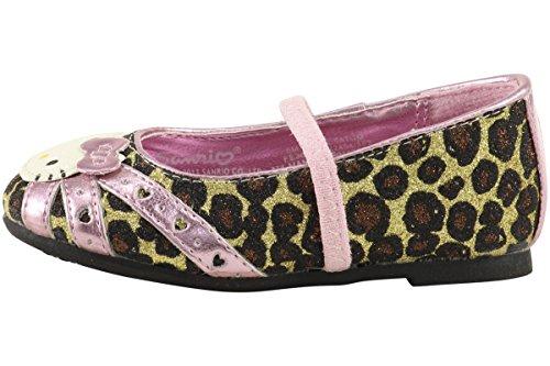 ... Hello Kitty Jenter Fashion Ballett Leiligheter Hk Lil Tatum Sko Fe3660  Leopard ...