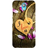 HTC Desire 526G Plus Back Cover - Love And Passion Designer Cases