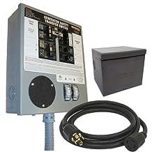 Generac 6294 30-Amp 6-10 Circuit Manual Transfer Switch Kit for Portable Generators
