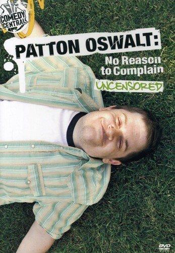 DVD : Patton Oswalt - No Reason To Complain (Full Frame)