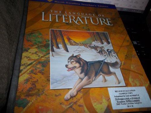 McDougal Littell Language of Literature North Carolina: Teacher's Edition Grade 6 2006