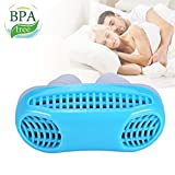 Snoring Solution, Anti Snoring Devices Snore Stopper, Stop Snoring, Best Airing Air Purifier Nose Vents Nasal Dilator, to Give You a Good Night's Sleep (blue)