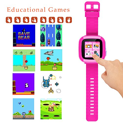 Kids Smartwatch,Smart Watch with Games,Girls Boys Smart Watches with Digital Camera Children's Smart Wrist Kids Gifts Learning Toys by YNCTE (Image #3)