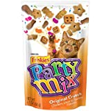 Crunchy Party Mix Pouch Cat Treats Quantity: Case of 10, Flavor: Original