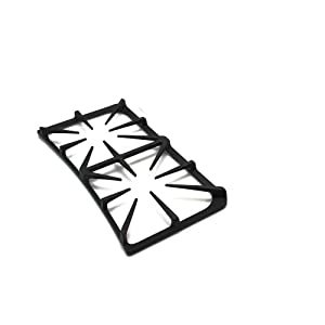 Frigidaire 5304492147 Range Surface Burner Grate, Side Genuine Original Equipment Manufacturer (OEM) Part Black