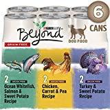 Beyond Grain Free Ground Entrée, Natural Wet Dog Food Variety Pack 2.21 kg (6 x 368g)