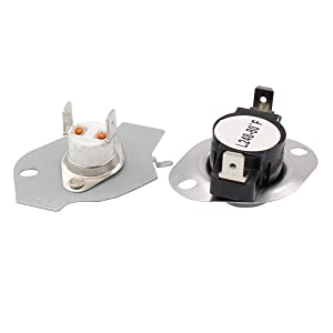 ApplianPar 279769 Dryer Thermal Cut-Off Kit Fuse Thermostat Replacement Part for Whirpool & Kenmore dryers Replaces 3389946, 3398671, 3977394, 695563, AP3094224, 3390291