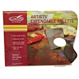 Loxley palette paper thumb hole sheet tear off waxie paper by Loxley