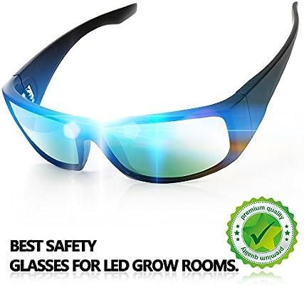 Indoor Grow Light Glasses Color Correction Rays Protective for UV Anti UV IR