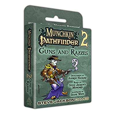 Steve Jackson Games Munchkin Pathfinder 2 Guns and Razzes Card Game: Toys & Games