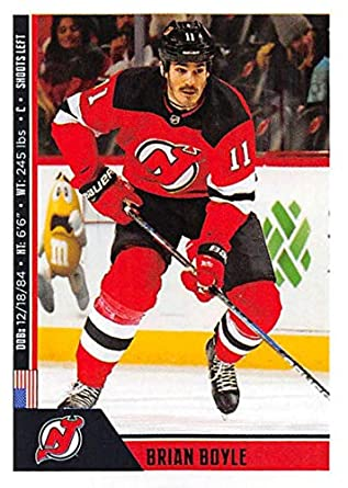 Amazon.com  2018-19 Panini NHL Stickers Hockey  133 Brian Boyle New ... 198744010