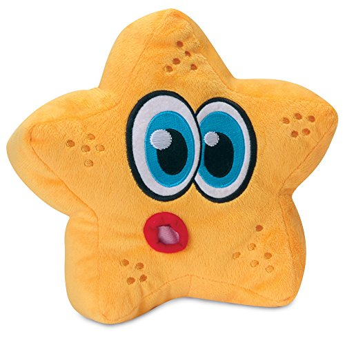 Hear Doggy Ultrasonic Dog Toy (Large) (Starfish)