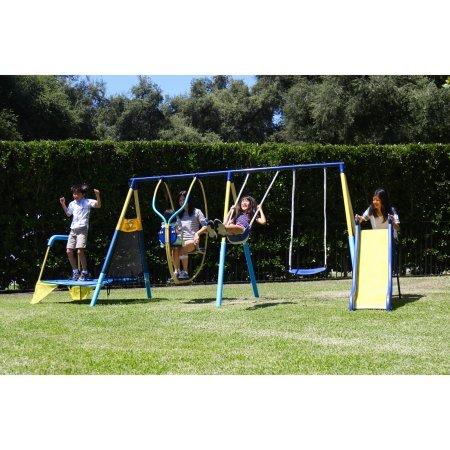 Sportspower-Ridgewood-Me-and-My-Toddler-Metal-Swing-Set