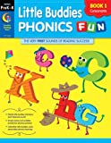 Little Buddies Phonics Fun Book 1 Consonants (Grades Prek-K), Rozanne Lanczak Williams, 1616015209