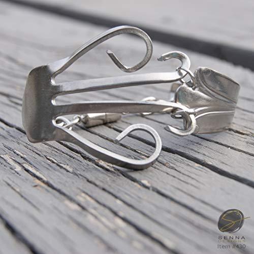Silverware Fork Bracelet