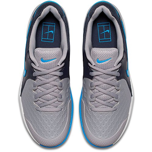 049 Air Photo Chaussures de Blue Atmosphere Multicolore Homme NIKE Gridiron Zoom Fitness Grey Resistance OwdaaS