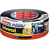Tesa Extra Power Universal - Cinta americana, 50 m x 50 mm, color negro
