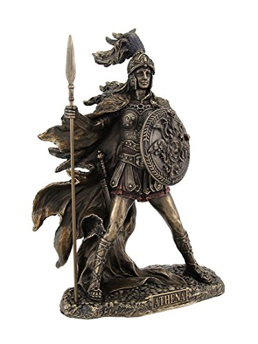 Things2Die4 Bronzed Athena Goddess of Wisdom and War