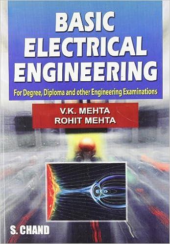 basic electrical engineering v k mehta rohit mehta