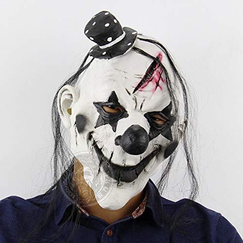 Evil Clown Mask Latex Horror Mask Devil Clown