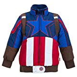 jacket captain america - Marvel Captain America Puffy Jacket for Kids Size 5/6 Multi