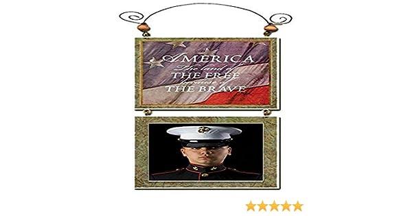 4.5 x 9.5 4.5 x 9.5 ID-FG-4755 Imagine Design 4.5x9.5 Patriotic America Photo Frame