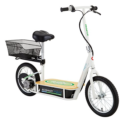 Razor EcoSmart Metro Electric Scooter with Fast Speed and Bike Features