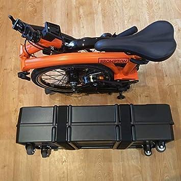 B&w B y W Foldon Bicicleta Plegable Caja: Amazon.es: Deportes y ...