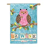 Cheap Be Wise Vertical Flag Size: 43″ H x 29″ W