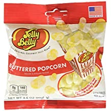 Jelly Belly (1 Pack) Buttered Popcorn 3.5-Ounce (x1 Unit), 0.10-Kilogram