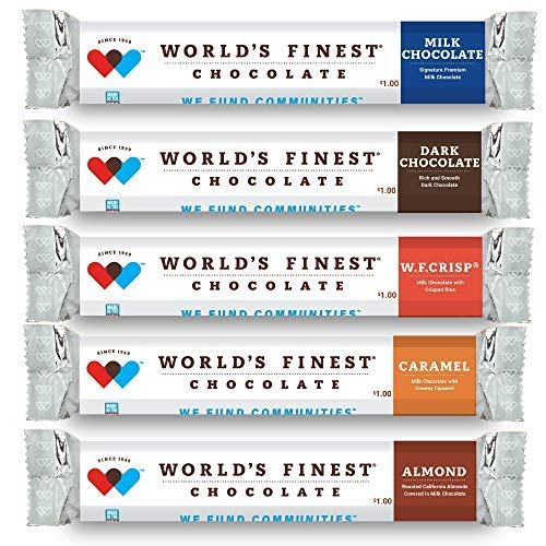 World's Finest Chocolate - 60 Candy Bar Fundraising Variety Pack by World's Finest (Image #2)