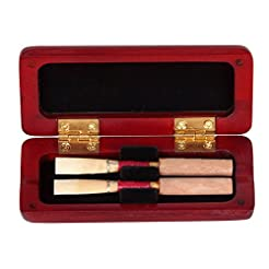 T-best Oboe Reed Case,Maple Wood Reeds C...