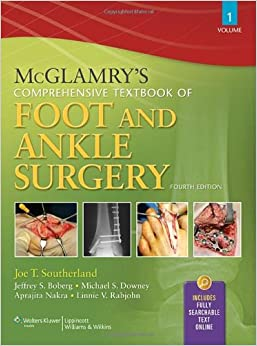 !OFFLINE! McGlamry's Comprehensive Textbook Of Foot And Ankle Surgery, Fourth Edition, 2-Volume Set. Salud control Escribir limites potencia CLEER tools Omitir