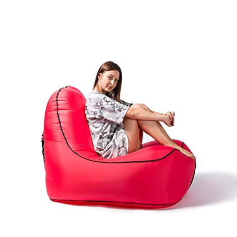 Amazon.com: Sofá hinchable de Lazy, sofá individual para ...