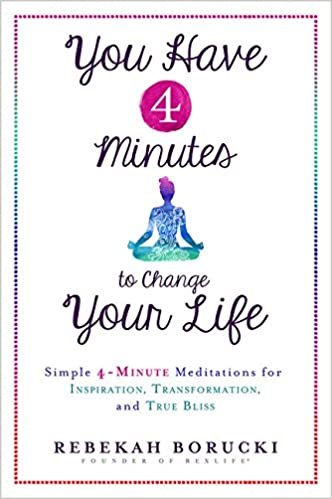 You have 4 minutes to change your life simple 4 minute you have 4 minutes to change your life simple 4 minute meditations for inspiration transformation and true bliss rebekah borucki 9781401949723 fandeluxe Image collections