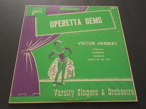 Operetta Gems, Victor Herbert Varsity Orchestra, Varsity 6991 NM
