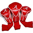 NCAA Alabama Crimson Tide 3 Pack Contour Head Covers