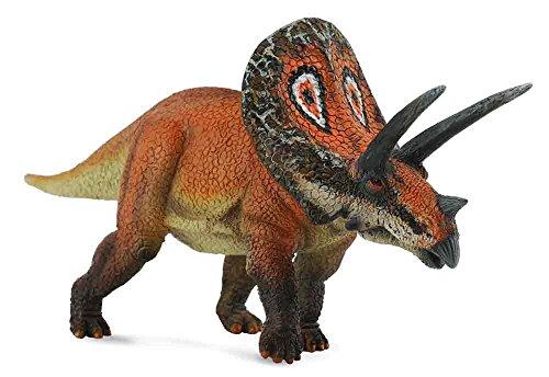 CollectA Prehistoric Life Torosaurus Dinosaur Toy Figure - Authentic Hand Painted Model