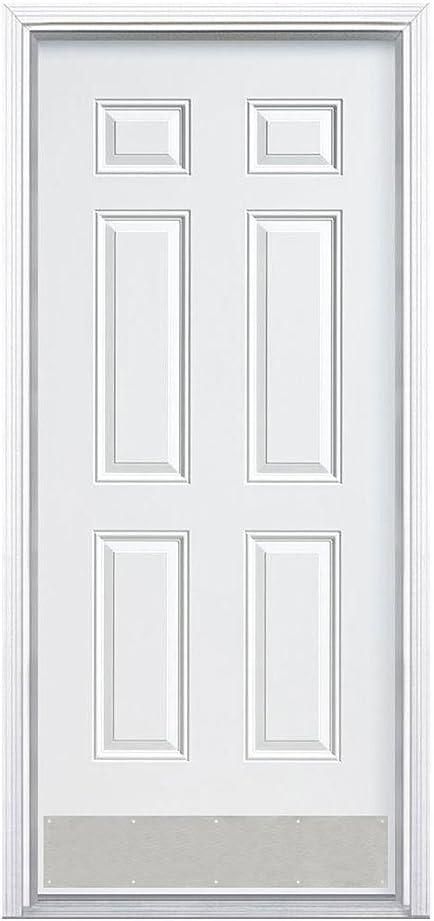 Designers Impressions Satin Nickel 6 x 30 Kick Plate 609360