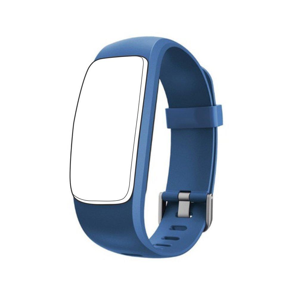 endubro Ersatzarmband fü r D107 Plus HR Fitness Tracker & viele Weitere Modelle aus hautfreundlichem TPU & nickelfreiem Verschluss
